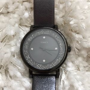 Timex glitter watch